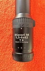 Zeiss Victory Diavari M 1.5-6x 42 T* 60 rail mount NEW