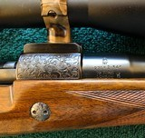 """Rigby - London - 270 Win RARE Light Deluxe Magazine Rifle 24"""" Bl. - Mint - 17 of 19"""