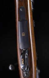 """Rigby - London -243 Win - Light Sporting Magazine Rifle - 23"""" Bl -- 99% Condition - 5 of 23"""
