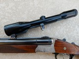 """Top KRIEGHOFF Model """"Trumpf"""" Drilling cal 30-06 & 12/70 with ZEISS scope- 6 of 15"""