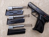 Rare HECKLER & KOCH Model 4 Pistol with exchange barrels in 4 different calibers