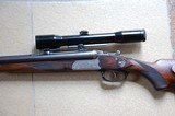 """Mint West-German made SAUER & SOHN Model """"Luxus"""" Drilling with HENSOLDT Diavari 1.5-6X42 Scope - 5 of 14"""