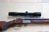 """Mint West-German made SAUER & SOHN Model """"Luxus"""" Drilling with HENSOLDT Diavari 1.5-6X42 Scope - 10 of 14"""