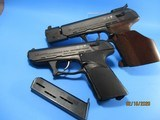 Rare Set of a HK P9S Sport Group III and a P9S cal 9mm pistol with identical S/N - 3 of 15