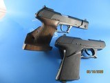 Rare Set of a HK P9S Sport Group III and a P9S cal 9mm pistol with identical S/N - 2 of 15