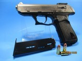Rare nickel/chrome plated Heckler & Koch P9S in 9mm Para