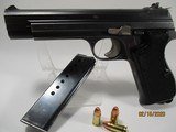 Rare, Swiss-made SIG P210-4, 9mm Para, German Border Guard - BGS issued pistol