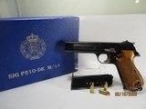 Excellent SIG P210-49/DK, Danish Armee, cal 9mm Para pistol