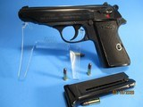 Nice West-German WALTHER PP cal .22LR semi- auto pistol in mint condition