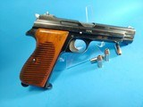 Rare, Swiss made SIG P210-49/HTK early, high polish Danish army pistol w. wooden grips - 6 of 13
