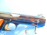 Rare, Swiss made SIG P210-49/HTK early, high polish Danish army pistol w. wooden grips - 11 of 13