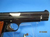 Rare, Swiss made SIG P210-49/HTK early, high polish Danish army pistol w. wooden grips - 9 of 13