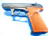 """Rare & special, German forces, pristine HECKLER & KOCH P9S """"Combat"""" model, 9mm Para, NAVY trigger guard, NILL wood grips in Walnut Burl carr"""