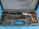 EXTREMELY RARE 9mm Walther P88 Champion Target Pistol w. .22LR Target Conversion System - MINT! - 4 of 15