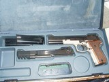EXTREMELY RARE 9mm Walther P88 Champion Target Pistol w. .22LR Target Conversion System - MINT! - 6 of 15
