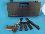 EXTREMELY RARE 9mm Walther P88 Champion Target Pistol w. .22LR Target Conversion System - MINT! - 3 of 15