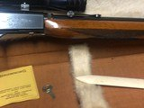 1959 Browning 22 LR With 4X Reiel Scope 99+% PRISTINE - 14 of 15
