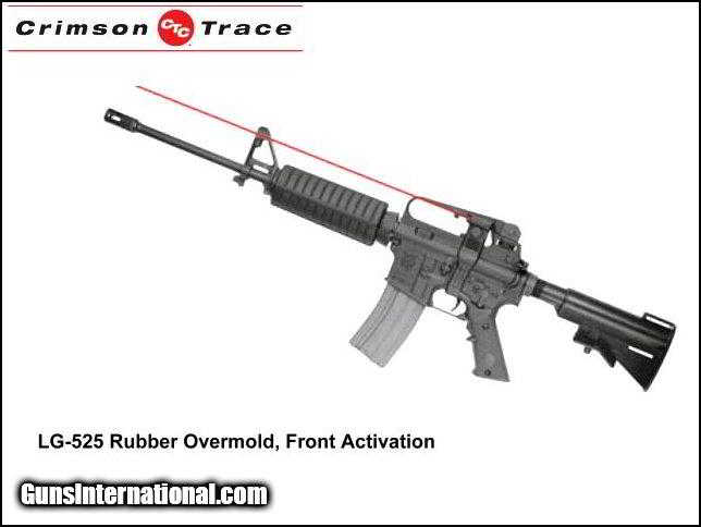 Crimson Trace laser grip system for AR-15/M-16 rifles for sale