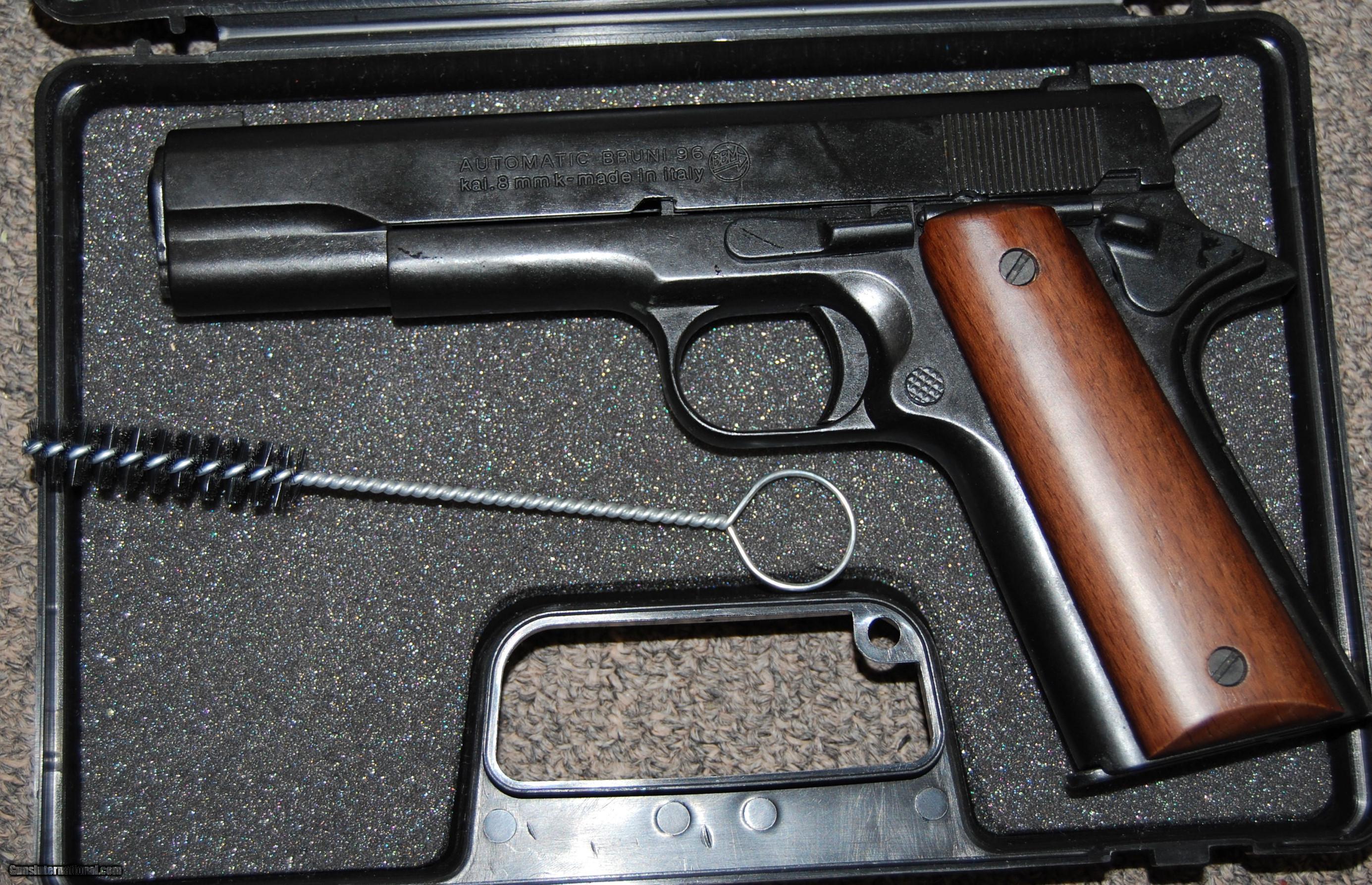 Bruni Automatic 8mm 1911 Blank pistol