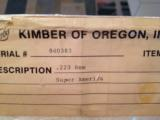 KIMBER OF OREGON SUPER AMERICA .223 ANIB - 2 of 13