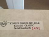 KIMBER OF OREGON MODEL 82C .22 LR NIB! - 4 of 17