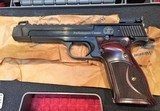 "SMITH & WESSON MODEL 41 .22 LR PERFORMANCE CENTER PISTOL ""UNFIRED"""