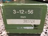 SWAROVSKI HABICHT NOVA 3X12X56 STEEL BODY MINT CONDITION - 5 of 5