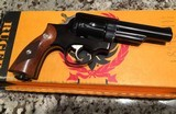 RUGER SECURITY SIX REVOLVER NEW IN BOX COLLECTIBLE .380 RIMMED CALIBER (38 S&W)