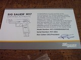 Sig Sauer M17 Commemorative Unfired #4812 of 5000 with Challenge Coin & COA - 7 of 7