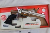 Colt Single Action Army 2nd generation Nickel 4 3/4 with Peacemaker Specialists action Job in stagecoach Box - 3 of 12