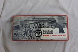Colt Single Action Army 2nd generation Nickel 4 3/4 with Peacemaker Specialists action Job in stagecoach Box - 1 of 12