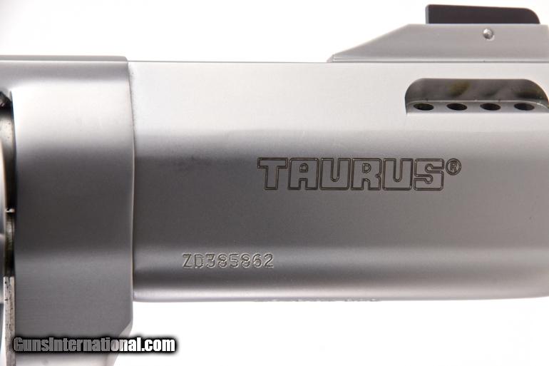 TAURUS RAGING BULL MODEL DA/SA REVOLVER IN  500 S&W MAGNUM