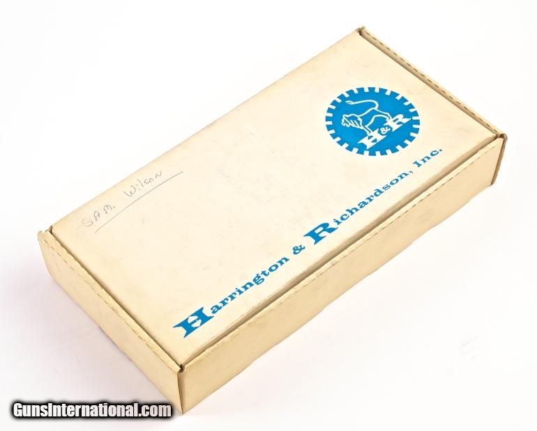 HARRINGTON & RICHARDSON MODEL 960 DA/SA  32 BLANK CALIBER