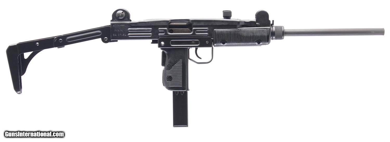 IMI ACTION ARMS UZI MODEL B 9MM SEMI-AUTO RIFLE, EXCELLENT