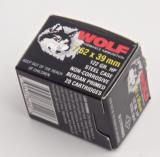 WOLF PERFORMANCE AMMO 7.62X39 MM 154 GR. SP, STEEL CASE