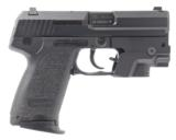 HECKLER & KOCH HK USP COMPACT .40 S&W CALIBER DAO SEMI-AUTO PISTOL WITH 3.5 IN. BBL., 2 MAGS., A LASER DEVICES SIGHT & HARD CASE