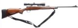 "REMINGTON MODEL 700 .30-06 CAL. LEFT HAND BOLT ACTION RIFLE WITH 22"" BARREL WALNUT MONTE CARLO STOCK & LEUPOLD VX-II 3-9x40 SCOPE"