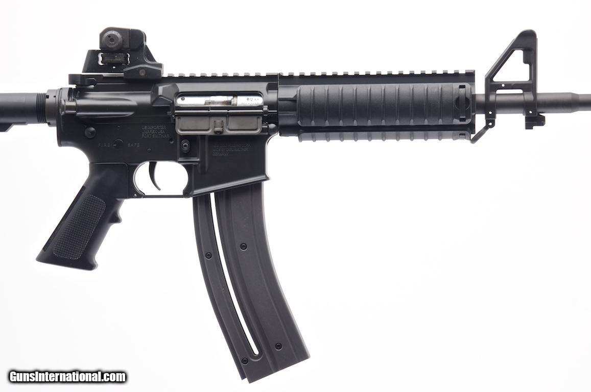 Walther umarex colt m4 ops model 22 lr semi auto carbine for 16 box auto