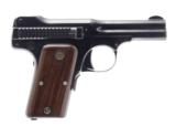 SMITH & WESSON MODEL 1913 FIRST VARIATION .35 CAL. SEMI AUTO PISTOL WITH 3.5 IN. BBL.