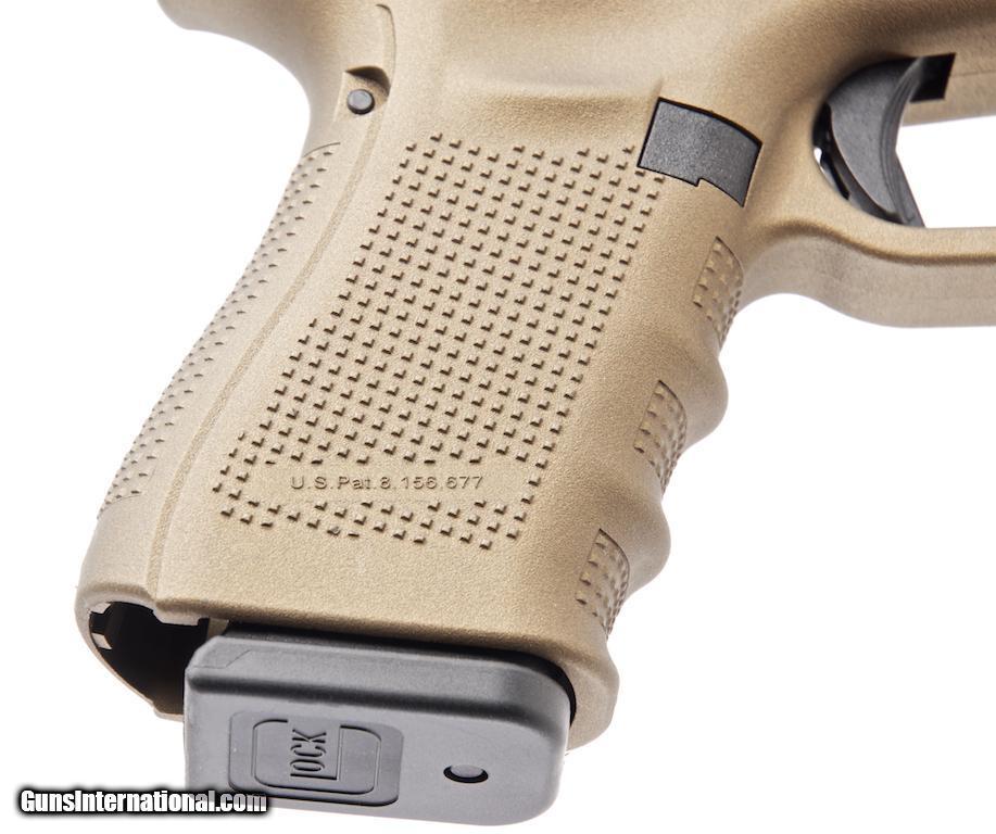 Glock G19 Gen 4 Burnt Bronze 9mm Semi-Automatic Pistol