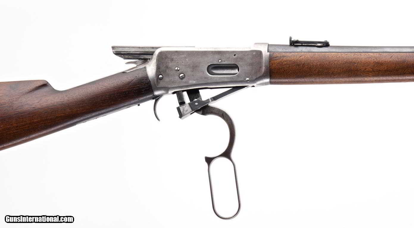 WINCHESTER MODEL 1894 EASTERN CARBINE .38-55 LEVER ACTION RIFLE