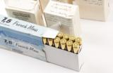 LOT OF 185 ROUNDS OF 7.5 X 54 MM FRENCH MAS 139 GR. AMMO (12 BOXES)