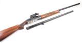 WINCHESTER MODEL 59 WINLITE 12 GA. SEMI-AUTO SHOTGUN WITH 30 IN. & 28 IN. BBL. & WEAVER QUIK-POINT S1 SIGHT