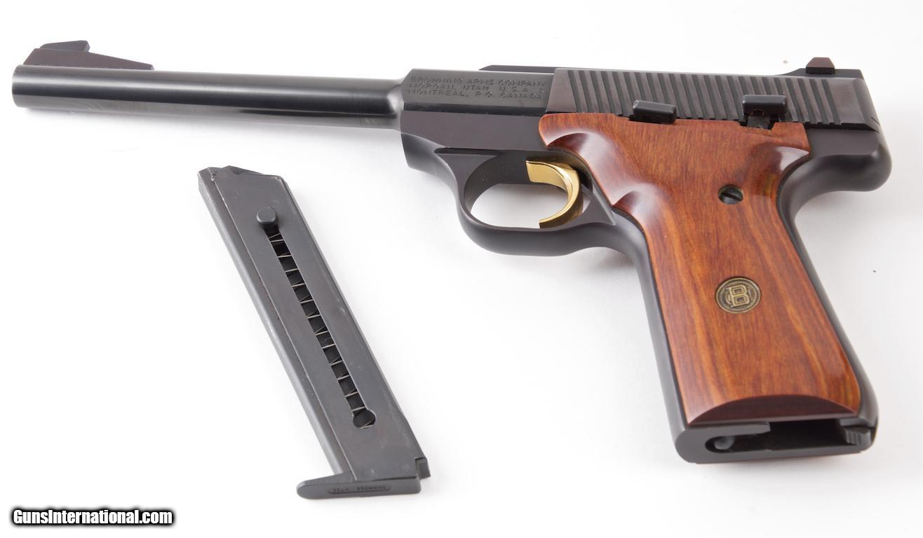 Browning model challenger ii lr semi automatic pistol