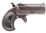 REMINGTON MODEL 95 TYPE II/MOD. NO. 3 .41 RF CALIBER DOUBLE DERRINGER WITH 3 IN. O/U BBLS.