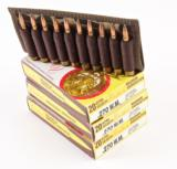 WEATHERBY .270 WEATHERBY MAGNUM 150 GR. SOFT POINT CARTRIDGES; 3 BOXES OF 20 & 10 ROUNDS IN UNCLE MIKE'S SIDEKICK BELT HOLDER