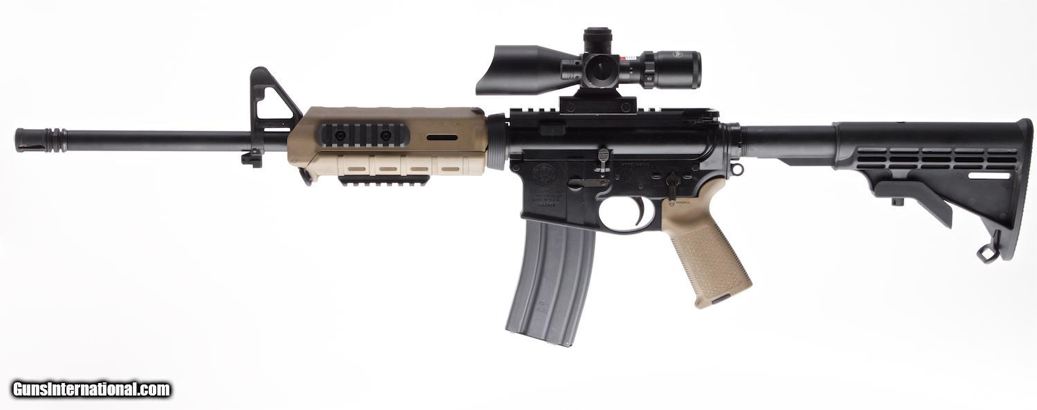 MP15 smith et wesson SMITH-and-WESSON-MandP-15-MAGPUL-EDITION-5-56-NATO-SEMI-AUTO-CARBINE-WITH-16-IN-BBL-and-FIREFIELD-2_100808829_24163_7028648ACD59E3B7