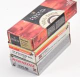 .458 WINCHESTER MAGNUM AMMO- 3 BOXES OF 20- FEDERAL 350 GR. SOFT POINT & 2 BOXES WINCHESTER SUPER X 510 GR. SOFT POINT - 2 of 3