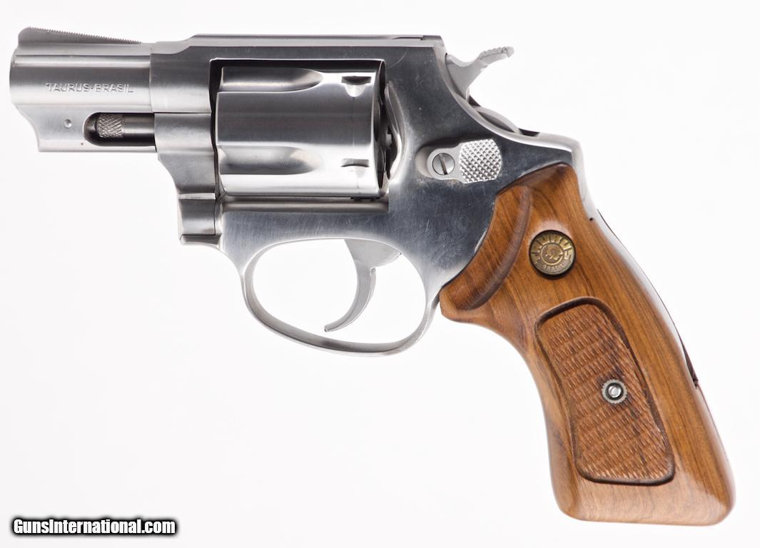 TAURUS MODEL M85  38 SPECIAL +P STAINLESS DA/SA REVOLVER, 2