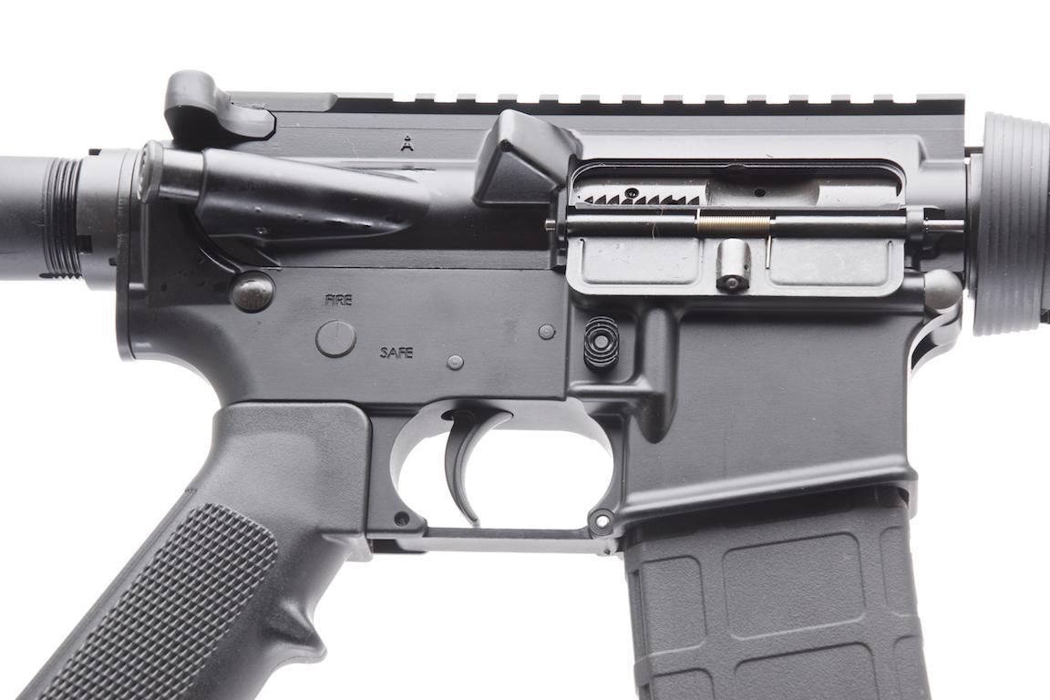 Bushmaster xm15 qrc mm semi auto carbine 16 bbl for 16 box auto